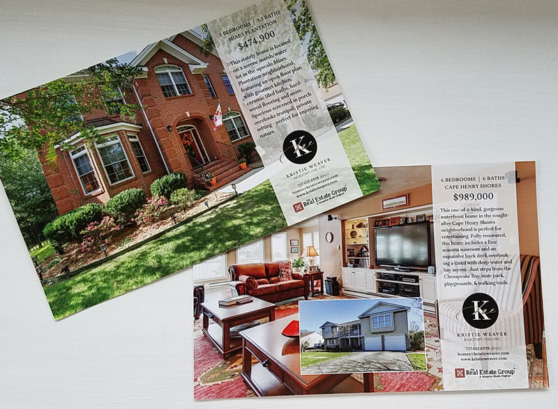 realtor post cards